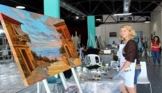 6 ülkeden 26 ressam hayallerini Tekirdağda tuvallere döküyor