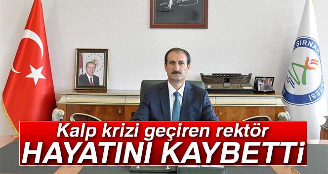 Rektör Mehmet Nuri Nas, hayatını kaybetti