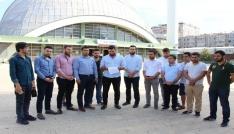 AK Parti Gençlik Kolları İsraili protesto etti
