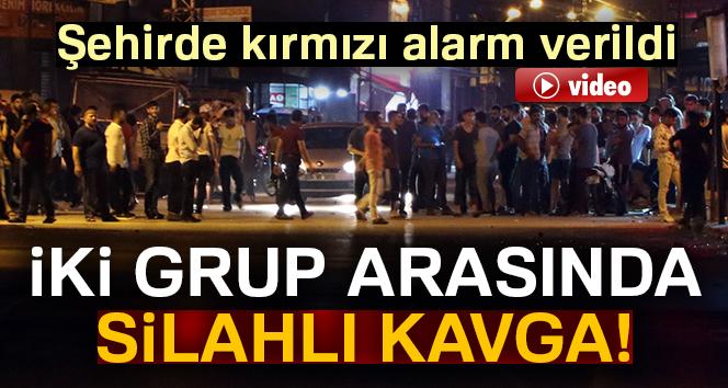İki grup arasında silahlı kavga! Şehirde kırmızı alarm verildi