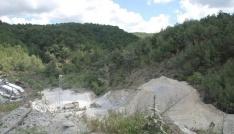Kozakta taş ocaklarının çevreye zarar verdiği iddia edildi