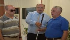 Çolakbayrakdar, Yaptığımız hizmetlerle engelli vatandaşlarımızla gönül köprüsü kuruyoruz