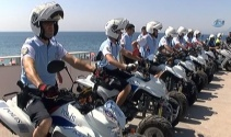 Antalya sahilleri ATV Motorlu Polis Timleri'ne emanet