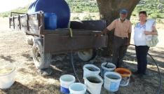 Çallıda Çoban Ahmetten su sorununa tankerli çözüm