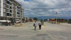 Burhaniyede trafik levhaları yenilendi