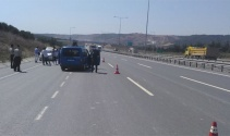 Jandarmadan hafriyat kamyonlarına yönelik uygulama