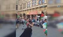 Viyana'da Kudüs'e destek gösterisi