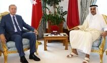 Cumhurbaşkanı Erdoğan Katar Emiri ile görüştü