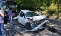 Üsküdar'da otobüs 10 araca çarptı: 11 yaralı