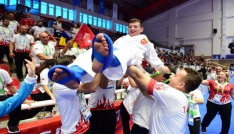Millilerden karatede 4 madalya