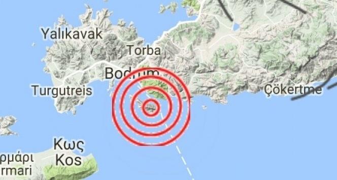 Ege Denizide 4.0 büyüklüğünde deprem
