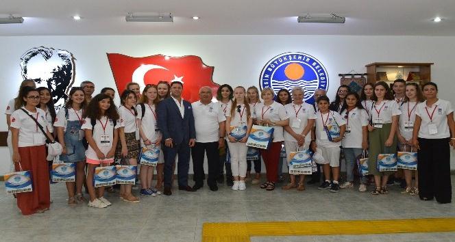 Başkan Kocamaz, Litvanyalı öğrencilerle buluştu