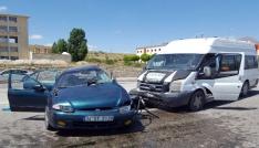 Gümüşhanede trafik kazası: 1 ölü, 8 yaralı