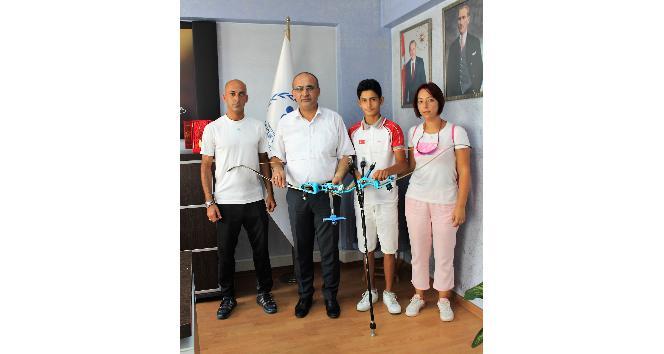 Mersinli genç okçu İstanbuldan şampiyonlukla döndü