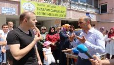 Trabzon Çamlık Özel Eğitim Meslek Lisesinin kapatılmasına öğrenci ve velilerden tepki