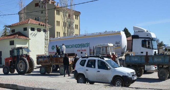 Kayseri Şekerden pancar çiftçisine 5 bin ton mazot desteği