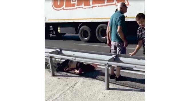 Motosikletle Manisadan Bursaya gezmeye gelen sevgilileri ölüm böyle ayırdı