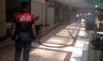 Başkentte AVMde yangın paniği