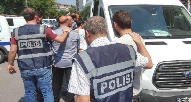 Serbest kalan suç örgütü şüphelisi 7 kişi tutuklandı