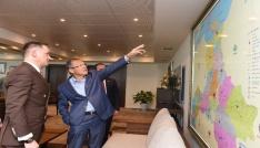 Arnavutluk Büyükelçisinden Başkan Uğura ziyaret