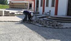İmko Camisinin çevre düzenlemesi yapılıyor