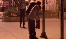Karaköyde şüpheli çanta paniği!