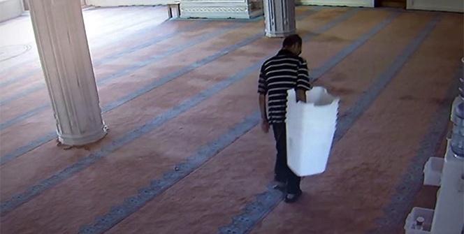 Camiyi 5 gün arayla 2 kez soydu, rahat tavırları pes dedirtti