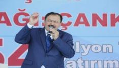 """Bakanı Eroğlu: """"Orta Anadoluya 14 milyardan fazla yatırım yapacağız"""""""