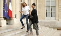 Rihanna, Fransa Cumhurbaşkanı Macronla görüşüyor