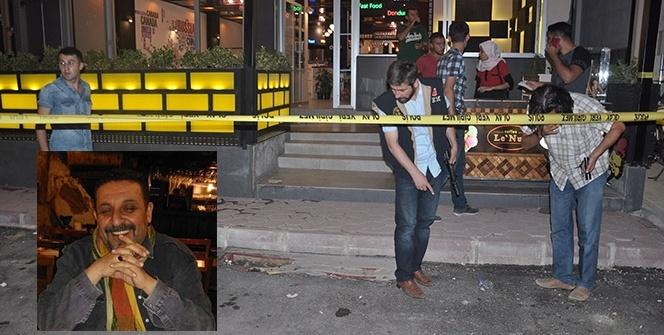 Kafe işletmecisine silahlı saldırı