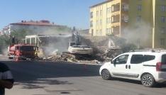 Aksaray Belediyesi yıkım çalışması yaptı
