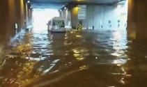 Taksim Tüneli sular altında kaldı