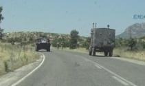 Diclede askeri aracın geçişi sırasında patlama