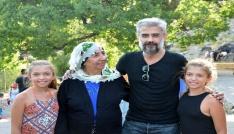 Ünlü oyuncu Kanbolat Görkem Arslan, Munzur Gözelerini gezdi