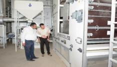 Bölgenin en büyük ve en kaliteli eleme tesisi Aksaraya kuruldu