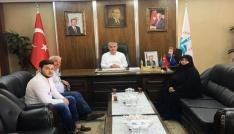 15 Temmuzun sembol isminden Başkan Memişe ziyaret