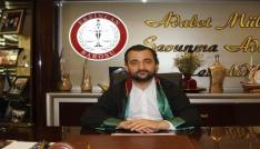 Erzincan Baro Başkanı Aktürk: Suçu sabit olanların en ağır cezayı almaları için gerekeni yapacağız