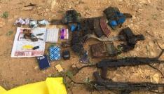 Tuncelide 2 terörist ölü olarak ele geçirildi