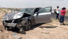 Aksarayda iki otomobil çarpıştı: 2 ölü, 4 yaralı