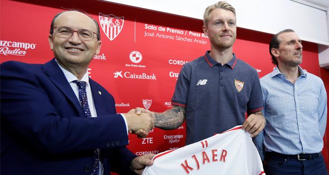 Kjaer, Sevillaya imzayı attı