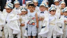 Yozgatta 62 çocuk için sünnet şöleni gerçekleştirildi