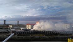 Afyonkarahisar Özel İdare Otoparkında yangın çıktı