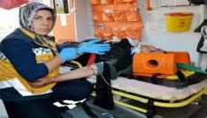 Kazada yaralanan annenin feryadı: Ne olur yavrularımın bir sesini duyayım