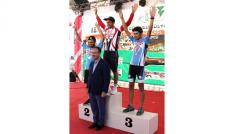 Başbakan Yardımcısı Bekir Bozdağ, Ulusal Dağ Bisikleti Yarışması ödül törenine katıldı
