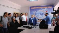 AFAD Yönetim Merkezi basına tanıtıldı
