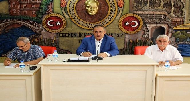 Gümüşhane İl Genel Meclisi'nin Ağustos ayı toplantıları sona erdi