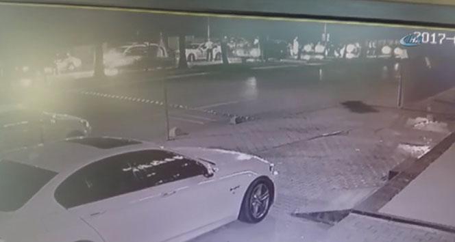 Uygulama yapan polise çarpıp kaçtı
