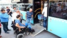 Yozgatta halk otobüsleri engelli vatandaşlar için yenilendi