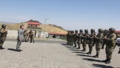 Vali Elban, İran sınırında incelemede bulundu