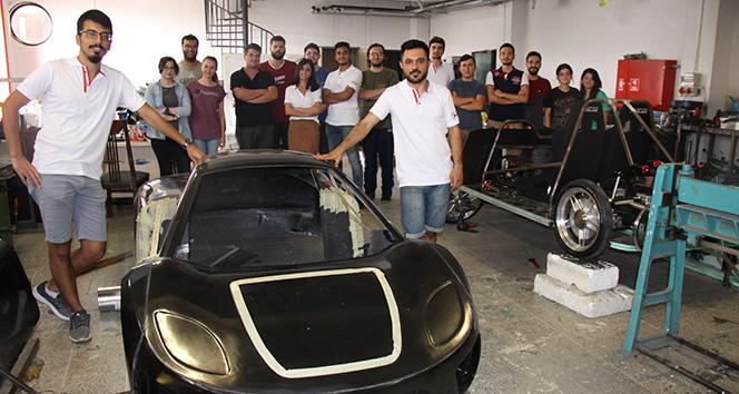 18 Üniversiteli ürettikleri araç ile 450 kilometre gitmeyi hedefliyor